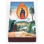 Явление Богородицы на Почаевой горе, икона на доске 7*13 см - Иконы
