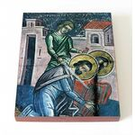 Мученик Парамон Вифинский, икона на доске 8*10 см - Иконы
