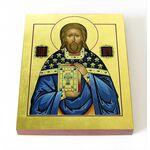 Священномученик Тигрий Константинопольский, икона на доске 8*10 см - Иконы
