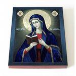 Калужская икона Божией Матери, на доске 8*10 см - Иконы
