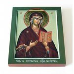 Калужская икона Божией Матери, доска 8*10 см - Иконы