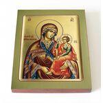 """Икона Божией Матери """"Одигитрия"""" Шуйская, доска 8*10 см - Иконы"""