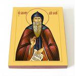 Преподобный Варсонофий Великий, икона на доске 8*10 см - Иконы