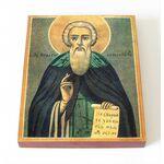 Преподобный Игнатий Ломский, Ярославский, икона на доске 8*10 см - Иконы