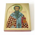 Святитель Тарасий Константинопольский, икона на доске 8*10 см - Иконы