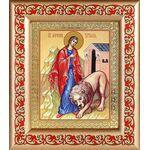 Мученица Татиана Римская, икона в рамке с узором 14,5*16,5 см - Иконы