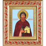 Благоверный князь Даниил Московский, рамка с узором 14,5*16,5 см - Иконы
