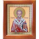Святитель Мирон Критский, икона в деревянной рамке 12,5*14,5 см - Иконы