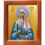 Преподобномученица Параскева Римская, икона в рамке 12,5*14,5 см - Иконы