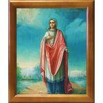 Преподобномученица Анастасия Римляныня, икона в рамке 17,5*20,5 см - Иконы