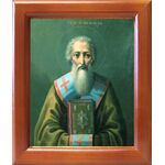 Святитель Лев I папа Римский, икона в рамке 12,5*14,5 см - Иконы