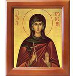 Мученица Гликерия Гераклейская, дева, икона в рамке 12,5*14,5 см - Иконы