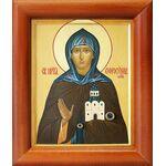 Преподобная Евфросиния Московская, Евдокия, икона в рамке 8*9,5 см - Иконы