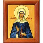 Праведная Нонна Назианзская, диакониса, икона в рамке 8*9,5 см - Иконы