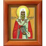 Святитель Иона, архиепископ Новгородский, икона в рамке 8*9,5 см - Иконы