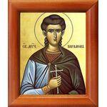 Мученик Парамон Вифинский, икона в рамке 8*9,5 см - Иконы