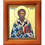 Святитель Евстафий I Сербский, икона в рамке 8*9,5 см - Иконы