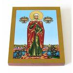 Мученица Валерия Кесарийская, Калерия, икона доске 13*16,5 см - Иконы