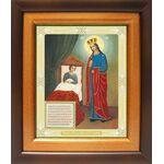 """Икона Божией Матери """"Целительница"""", широкий киот 21,5*25 см - Иконы"""