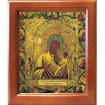 """Икона Божией Матери """"Хлебенная"""", деревянная рамка 12,5*14,5 см - Иконы"""