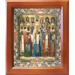 Собор Ростовских святых, икона в рамке 12,5*14,5 см - Иконы