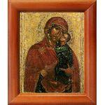 Толгская икона Божией Матери, Ярославль, 1314 г, рамка 8*9,5 см - Иконы