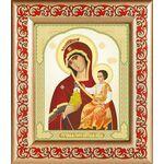 """Икона Божией Матери """"Тучная Гора"""", рамка с узором 14,5*16,5 см - Иконы"""