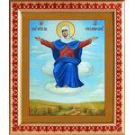"""Икона Божией Матери """"Спорительница хлебов"""", рамка с узором 21,5*25 см - Иконы"""