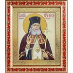 Святитель Лука архиепископ Крымский, икона в рамке с узором 19*22,5 см - Иконы
