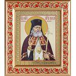 Святитель Лука архиепископ Крымский, икона в рамке с узором 14,5*16,5 см - Иконы
