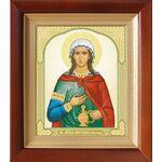 Мученица Фотина Самаряныня Римская, икона в киоте 14,5*16,5 см - Иконы