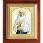 Преподобномученица великая княгиня Елисавета, киот 14,5*16,5 см - Иконы