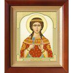 Великомученица Марина Антиохийская, Маргарита, киот 14,5*16,5 см - Иконы