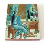 Апостол Матфей, евангелист, икона на доске 13*16,5 см - Иконы