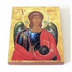 Архангел Михаил, 1400-1405 гг, Македония, икона на доске 13*16,5 см - Иконы