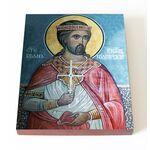 Мученик Боян Болгарский, Енравот, икона на доске 13*16,5 см - Иконы