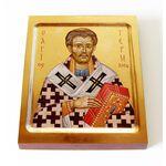 Святитель Герман, патриарх Константинопольский, доска 13*16,5 см - Иконы