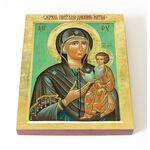 """Икона Божией Матери """"Дарование молитвы"""", доска 13*16,5 см - Иконы"""