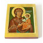 """Икона Божией Матери """"Дарование молитвы"""", печать на доске 13*16,5 см - Иконы"""