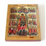 Девять чинов ангельских, икона на доске 13*16,5 см - Иконы