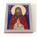 Преподобный Дионисий Радонежский, печать на доске 13*16,5 см - Иконы