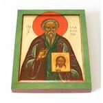 Преподобный Иларион Новый, Далматский, икона на доске 13*16,5 см - Иконы