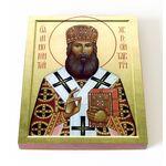 Святитель Иннокентий Херсонский, икона на доске 13*16,5 см - Иконы