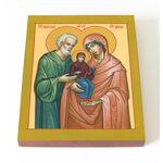 Праведные Иоаким и Анна, икона на доске 13*16,5 см - Иконы