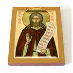 Преподобный Иоанн Прозорливый, Египетский, печать на доске 13*16,5 см - Иконы