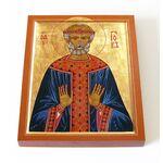 Праведный Иов Многострадальный, икона на доске 13*16,5 см - Иконы