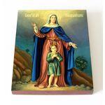 Мученики Кирик и Иулитта Тарсийские, икона на доске 13*16,5 см - Иконы