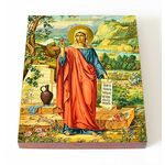 Равноапостольная Мария Магдалина, икона на доске 13*16,5 см - Иконы