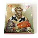 Равноапостольный Мефодий Моравский, икона на доске 13*16,5 см - Иконы