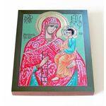 Молченская икона Божией Матери, Молчанская, доска 13*16,5 см - Иконы